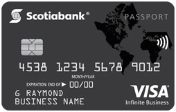 Scotiabank Passport™ Visa Infinite Business Card