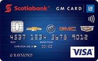 Scotiabank® GM® Visa Card