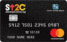 Stand Up To Cancer® Credit Card