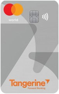 Tangerine World Mastercard®