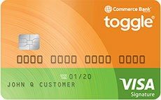 Toggle® credit card