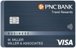 PNC Travel Rewards Visa® Business Credit Card