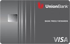 Union Bank® Bank Freely™ Rewards Visa® Credit Card