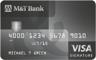 M&T Visa Signature® Credit Card
