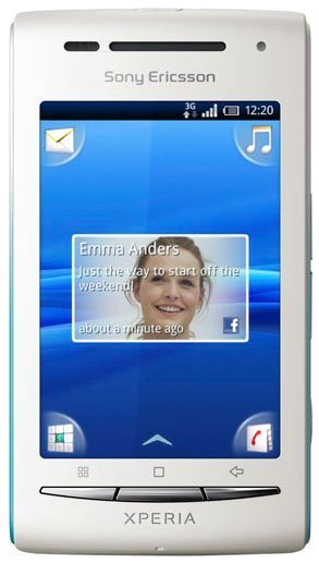sony ericsson xperia x8 reviews specs price compare rh cellphones ca Xperia X7 Xperia X8 Theme