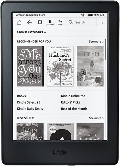 Kindle retail store canada