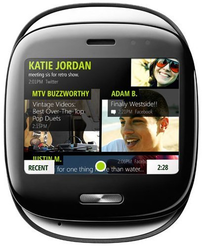 Kin phone updating modem