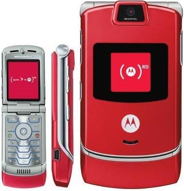 Motorola RAZR V3m Red