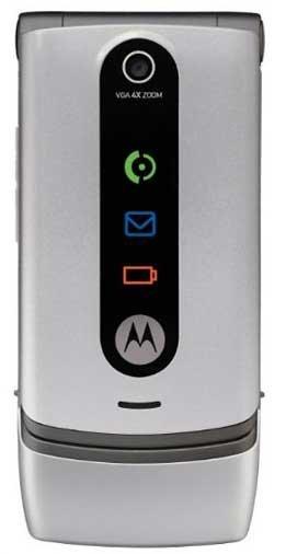 Motorola W370 - silver (Tracfone) Specs