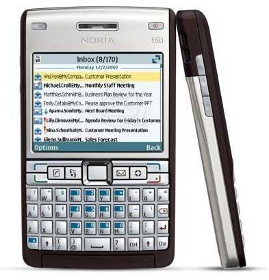 nokia e61i reviews specs price compare rh cellphones ca Nokia E60 Nokia E60