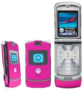 Motorola RAZR V3c (Magenta Pink)