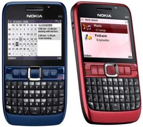 Nokia E63
