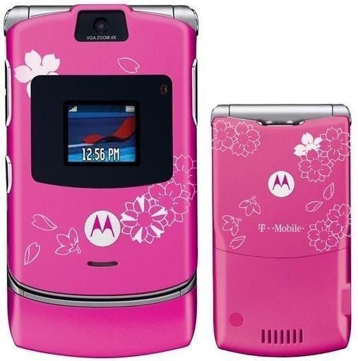 Motorola RAZR V3 (Cherry Blossom)