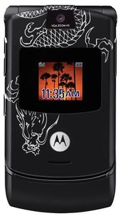 Motorola RAZR V3 (Dragon Tattoo)