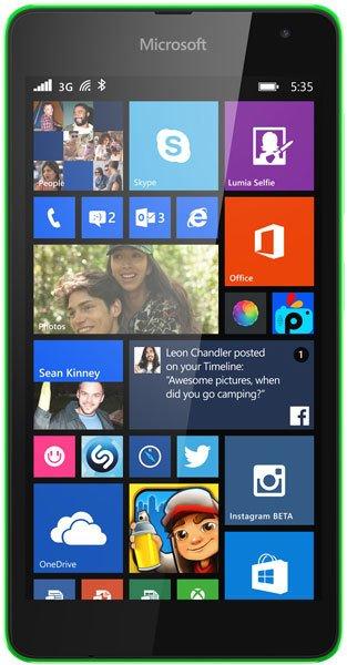 Microsoft Lumia 535 Reviews, Specs & Price Compare
