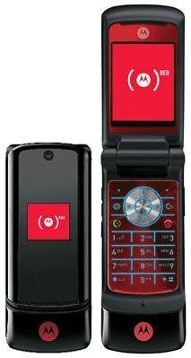 Motorola KRZR K1 (Red)